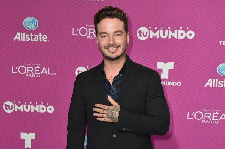 El cantante colombiano de música urbana J Balvin promociona su música. (Foto Prensa Libre: EFE)