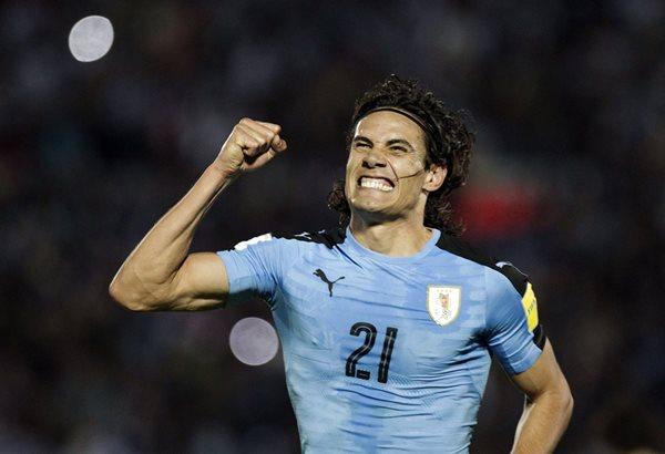 Edinson Cavani fue parte importante en la Selección de Uruguay. (Foto Prensa Libre: EFE)