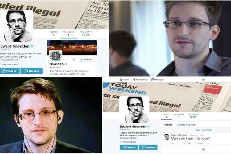 Edward Snowden, el informático estadounidense detrás de las revelaciones sobre lo secretos de vigilancia de EEUU.