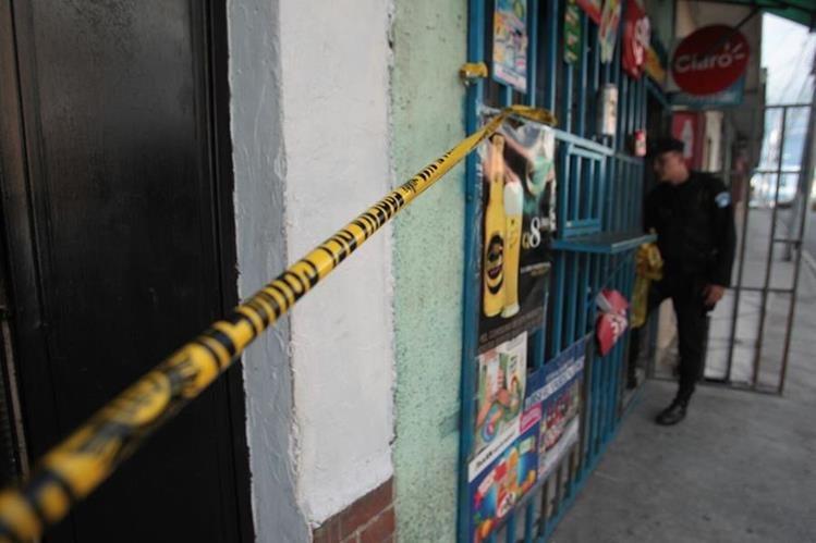 María López López atendía la tienda Momosteca cuando fue atacada a balazos. (Foto Prensa Libre: Hemeroteca PL)