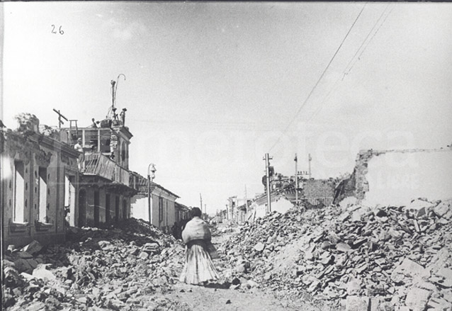 Los terremotos de 1917 y 1918 destruyeron gran parte de las construcciones originales del siglo XVIII y XIX transformando el estilo arquitectónico de la ciudad. (Foto: Hemeroteca PL)