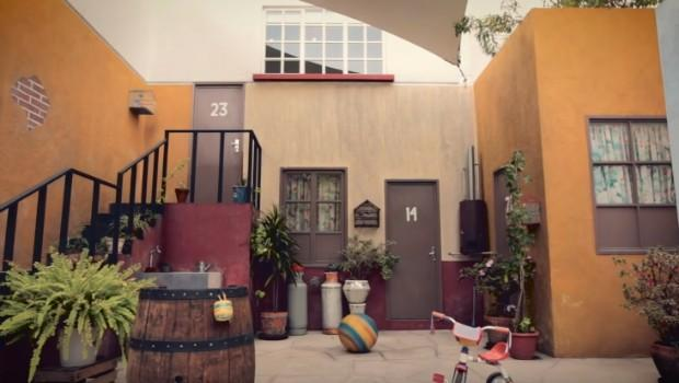El patio de la vecindad del Chavo es el lugar preferido por los visitanes. (Foto Prensa Libre: Hemeroteca PL)
