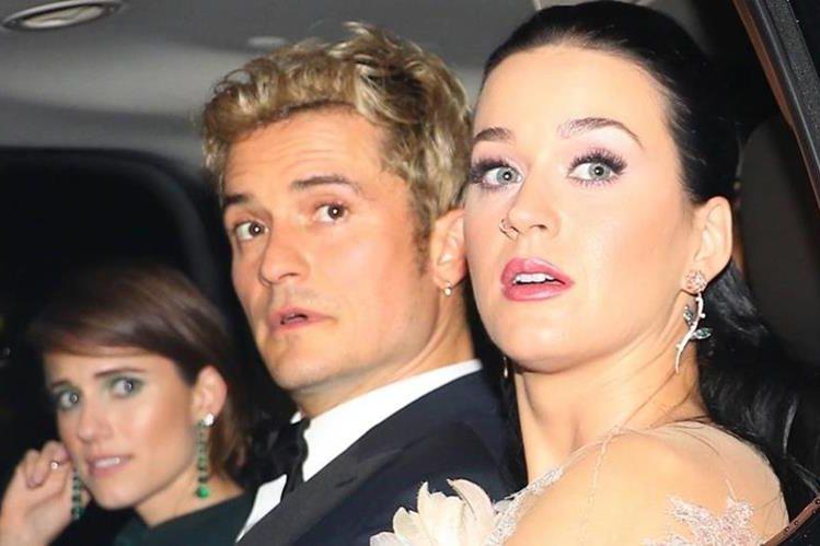 Katy Perry y Orlando Bloom pusieron fin a su relación amorosa de un año el pasado mes de marzo con un comunicado de prensa en conjunto. (Foto Prensa Libre: El País).