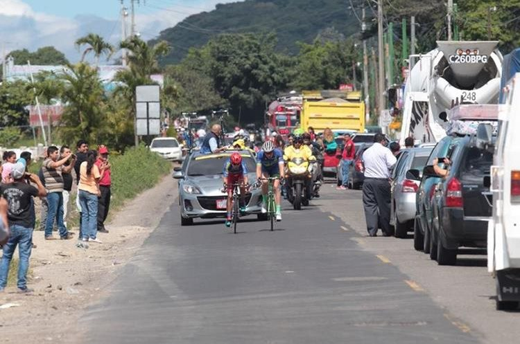 Hubo un ambiente de fiesta en la primera etapa de la Vuelta a Guatemala.