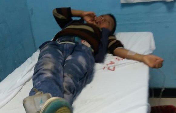 A los menores se les suministró medicamentos y fueron dados de alta. (Foto Prensa Libre: Héctor Cordero)