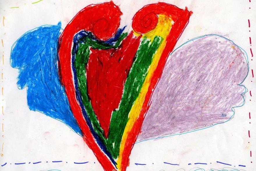 """""""Cuando alguien siente que hay otra persona a quien quieres más y por eso está enojada"""". Lulú  Trujillo, 7 años, colegio Naleb"""