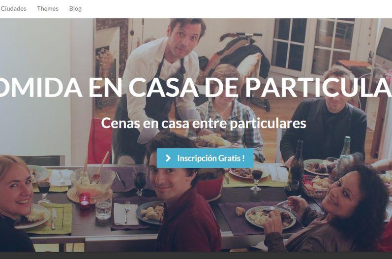 """El """"social dining"""" va más allá, dicen, de cocinar un menú a los huéspedes."""