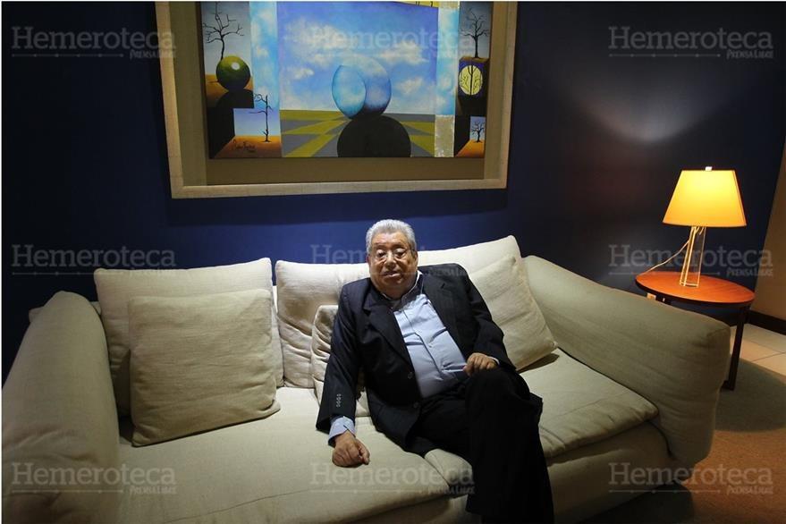 26/2/15 Entrevista con Bolaños Parada, ex presidente del TSE. (Foto: Hemeroteca PL)