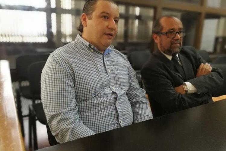 Roberto Barreda, esposo de Cristina Siekavizza, el principal sospechosos de la desaparición y muerte. (Foto Prensa Libre: Esbin García)