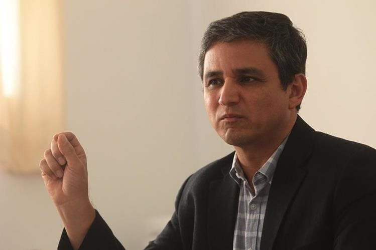 Neurólogo guatemalteco Carlos Orellana Ayala. Foto Prensa Libre: Álvaro Interiano.