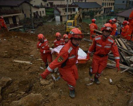 La tragedia ocurrió en el este de China. (Foto Twitter/XHNews).