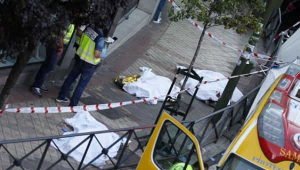 Triple asesinato ocurre en bufete de Madrid de un abogado peruano.(EFE):