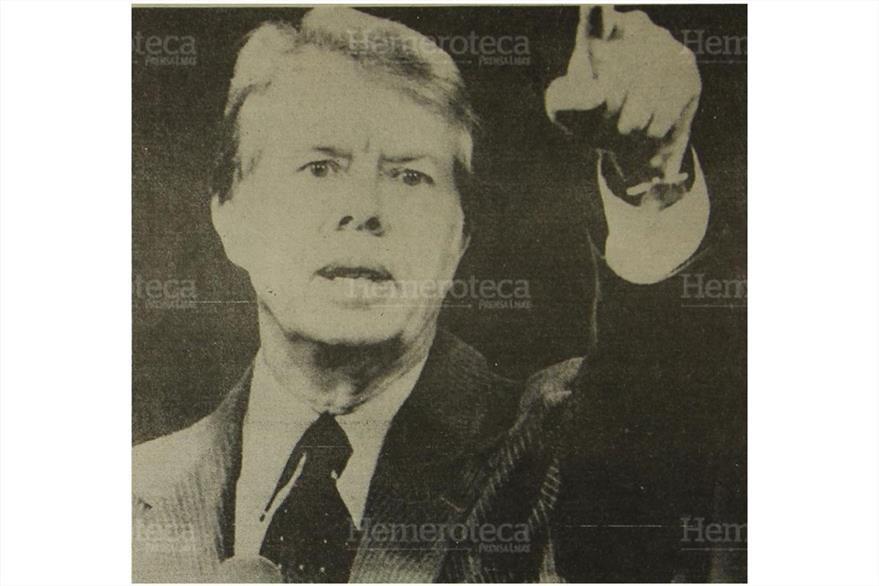 Jimmy Carter, presidente norteamericano. Foto: Hemeroteca PL)
