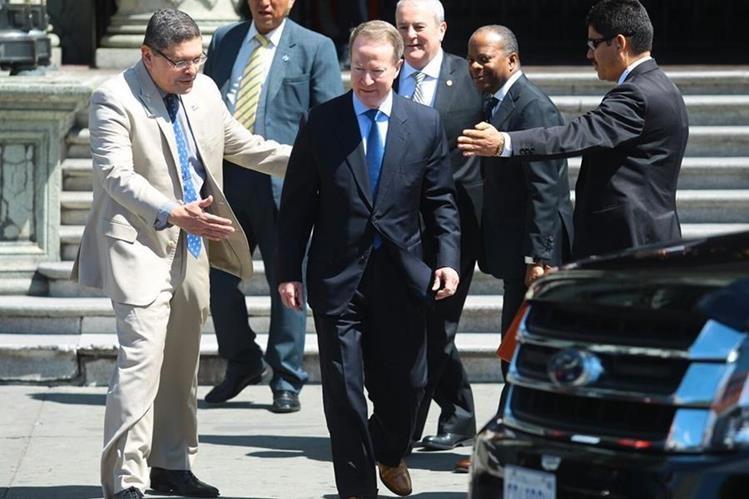 Secretario de Estado adjunto para Asuntos Internacionales de Narcóticos y de Cumplimiento de la Ley de EE. UU. (Foto Prensa Libre: Hemroteca PL)
