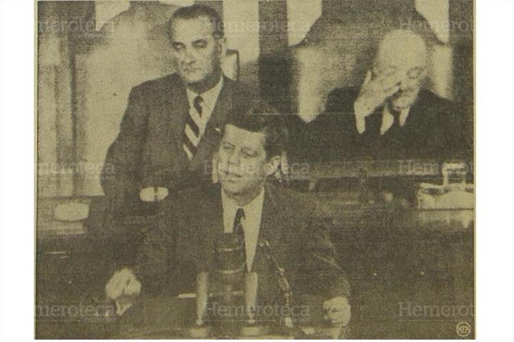 John Kennedy, presidente de EE. UU. descarta en 1962 invadir Cuba. (Foto: Hemeroteca PL)