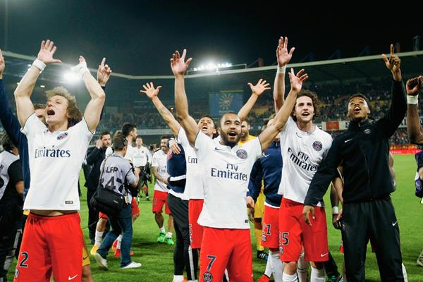 El PSG se resarció de su fracaso en Champions. (Foto Prensa Libre: AP)