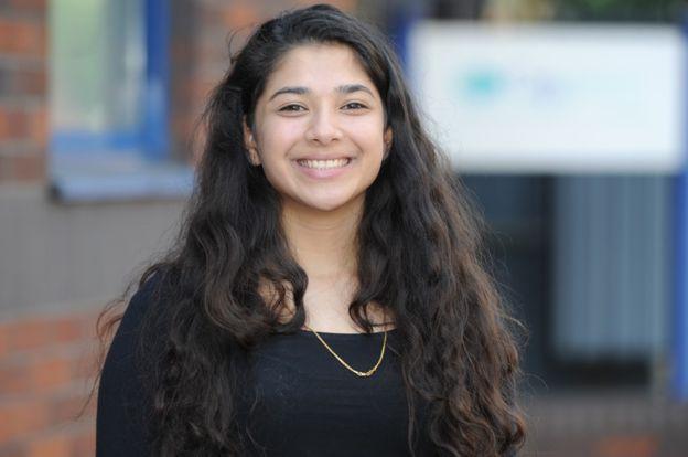 Radhika Parmar ha completado el primer año de su programa de formación. CAVENDISH PRESS
