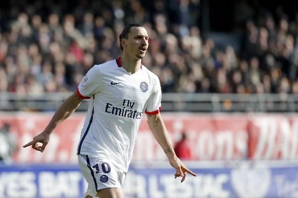 Zlatan ha sido la gran figura del París SG. (Foto Prensa Libre: Hemeroteca PL)