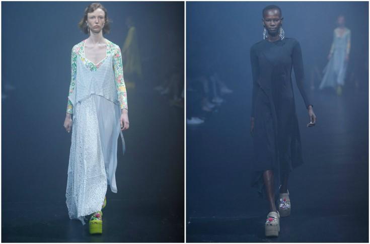 Los Crocs Balenciaga hicieron parte de la colección primavera -verano de la marca Balanciaga (Foto Prensa Libre: Facebook Balenciaga)