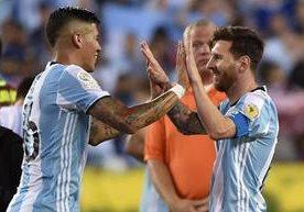Con doblete de Higuaín, más los tantos de Messi y Lamela, Argentina avanza a semis.