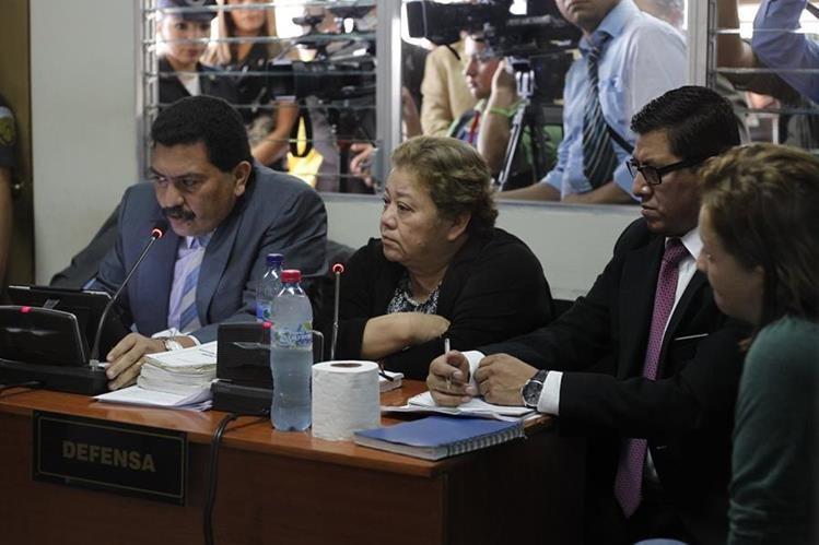 La jueza Marta Sierra fue ligada a proceso por los delitos de cohecho pasivo y prevaricato. (Foto Prensa Libre: Hemeroteca PL)