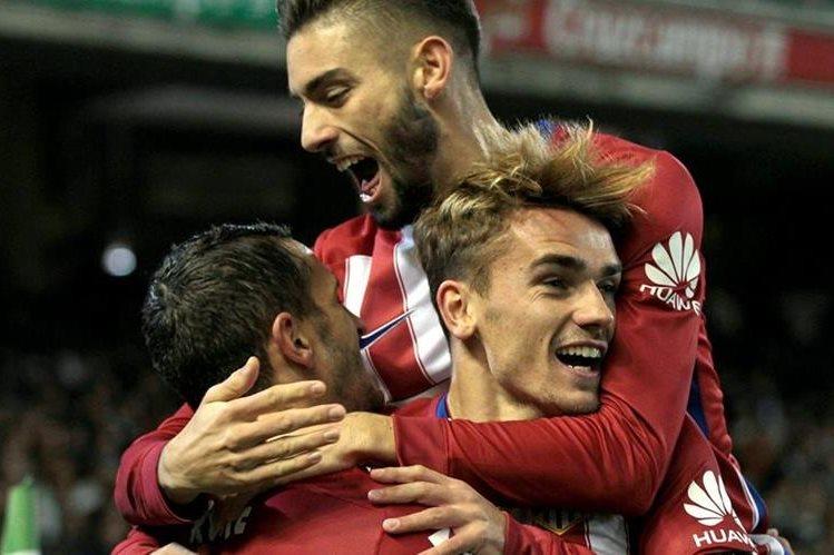 El Atlético de Madrid es sublíder de la Liga española. (Foto Prensa Libre: EFE)