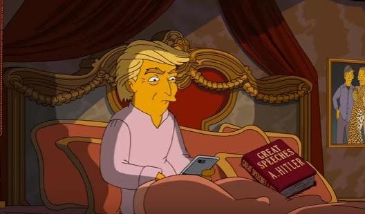 Los Simpson se mofan del ego de Donald Trump, quien aspira llegar a la Casa Blanca. (Prensa Libre: YouTube)