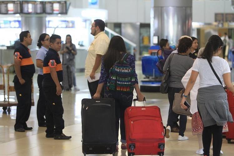 Los pasajeros que lleguen a Guatemala será evaluados por nivel de riesgo o amenaza. (Foto Prensa Libre: Hemeroteca PL)