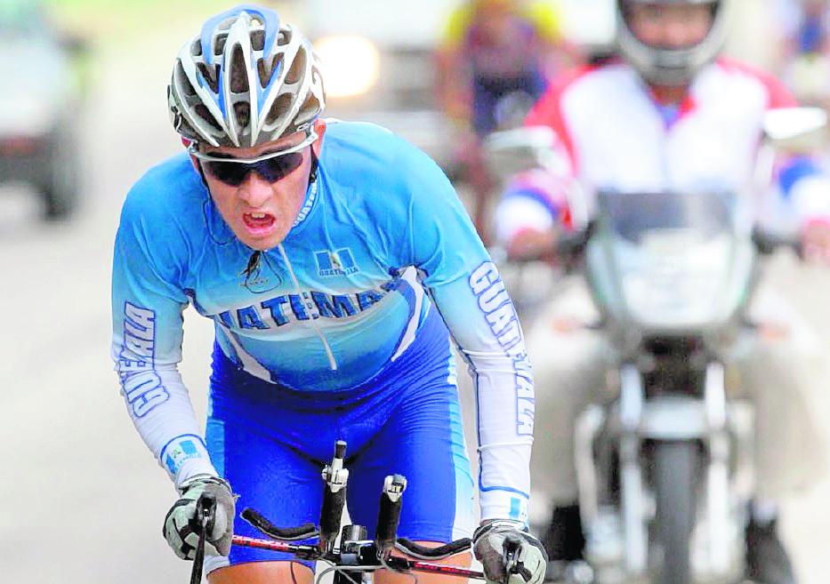 El ciclista guatemalteco Manuel Rodas logró su clasificación para los Juegos Olímpicos de Río de Janeiro 2016. (Foto Prensa Libre: Hemeroteca PL)