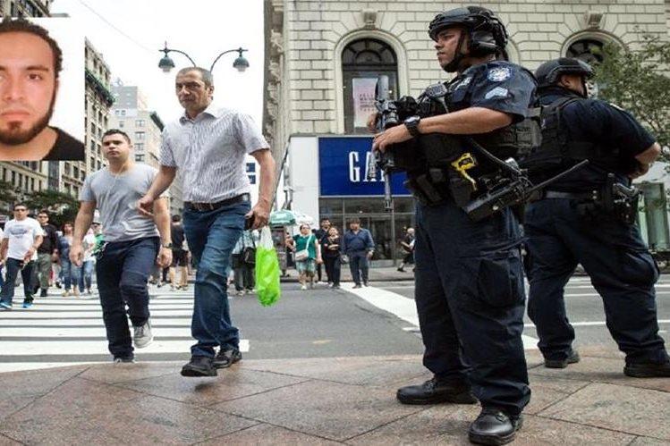 Ahmad Khan Rahami es buscado como sospechoso de las explosiones en Nueva York. (AFP).
