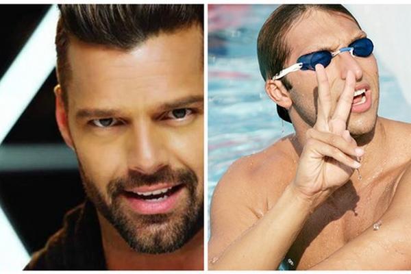 <p>El cantante puertorriqueño Ricky Martin y el nadador  australiano podrían ser pareja. (Foto Prensa Libre: Archivo)<br></p>