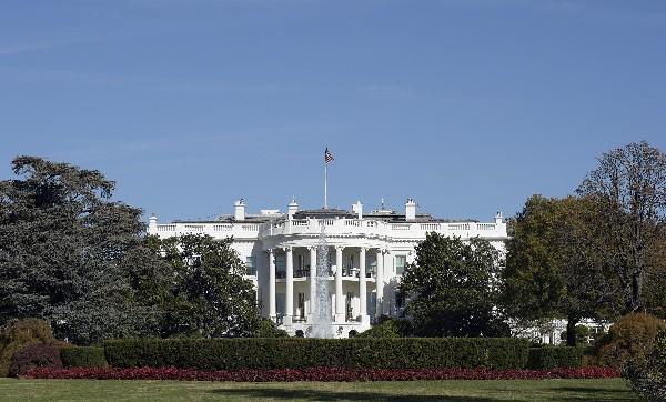 La Casa Blanca será ocupada por el candidato que salga electo hoy.(AP).