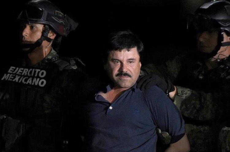 El Chapo Guzmán fue detenido por autoridades mexicanas el 8 de junio de 2016. (Foto Prensa Libre: Hemeroteca PL)