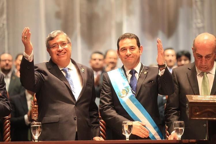 El partido que llevó a Morales y Cabrera a la Presidencia, será el que más deuda política cobre en los próximos cuatro años. (Foto Prensa Libre: Hemeroteca PL)
