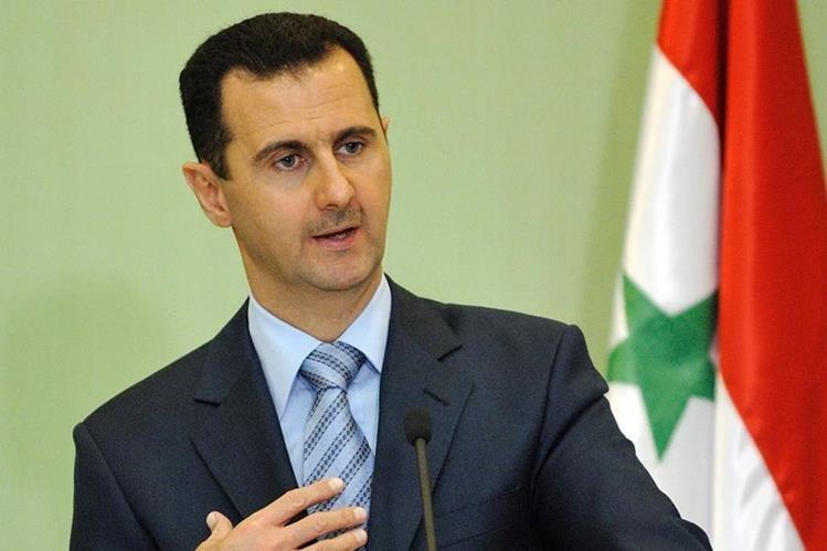 Presidente de Siria, Bachar al Asad.