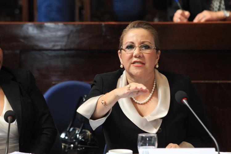 Magistrada Blanca Stalling pierde su inmunidad y será investigada formalmente. (Foto Prensa Libre: Hemeroteca PL)