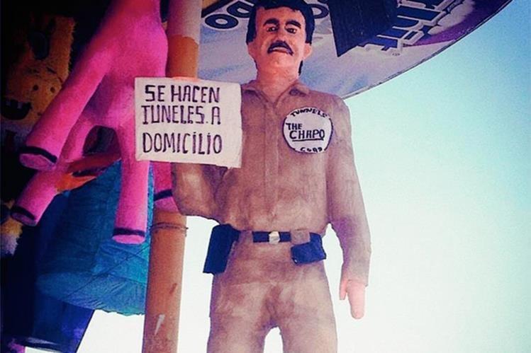 La piñata de el Chapo se vende en México.(Foto: excelsior.com.mx).