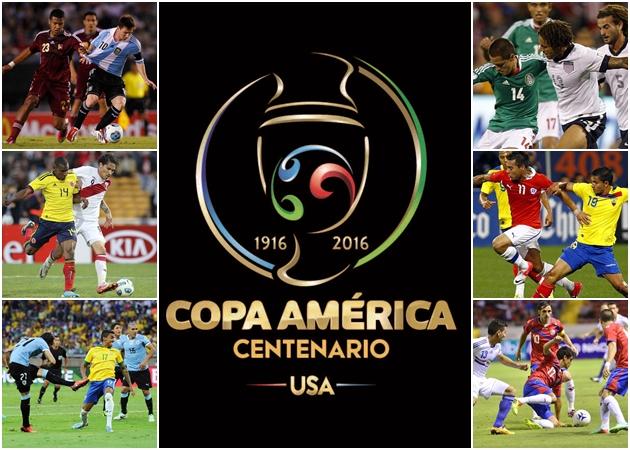 Las 16 selecciones que participarán en la Copa América Centenario conocerán sus rivales el 21 de febrero. (Foto Prensa Libre: Hemeroteca PL)