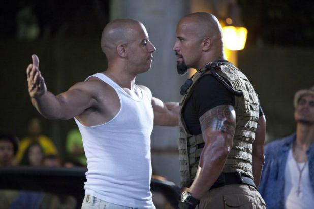"""¿Hay una pelea entre Vin Diesel y Dwayne """"The Rock"""" Johnson? Algunos medios aseguran que sí e hizo modificar la última película de la franquicia (Foto Prensa Libre: archivo)."""