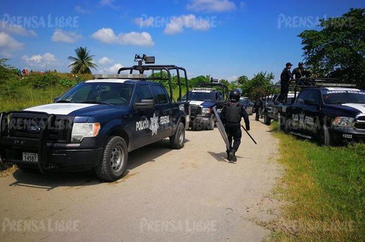 México refuerza seguridad en la frontera.