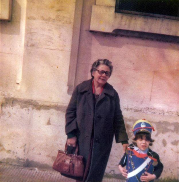 Cuando sus padres fueron desaparecidos, Luciano Zuppa quedó al cuidado de su abuela materna. LUCIANO ZUPPA