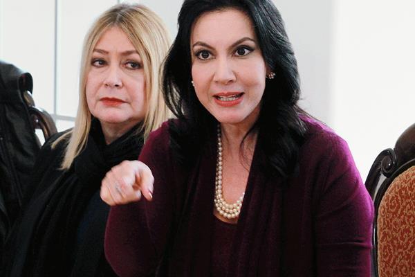 En enero  Ríos Sosa fue invitada por el PLP, pero no se concretó su incorporación. (Foto Prensa Libre: Hemeroteca PL)