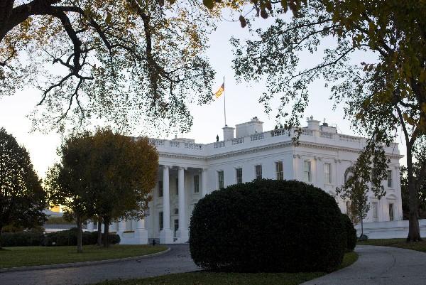 Una vista de la Casa Blanca en Washington.(AP).