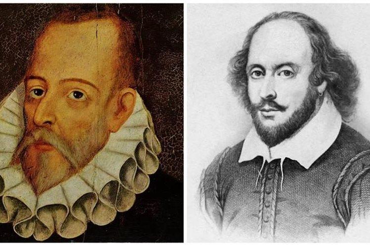 Cervantes y Shakespeare murieron el 21 de abril de 1616. (Foto Prensa Libre: Hemeroteca PL)