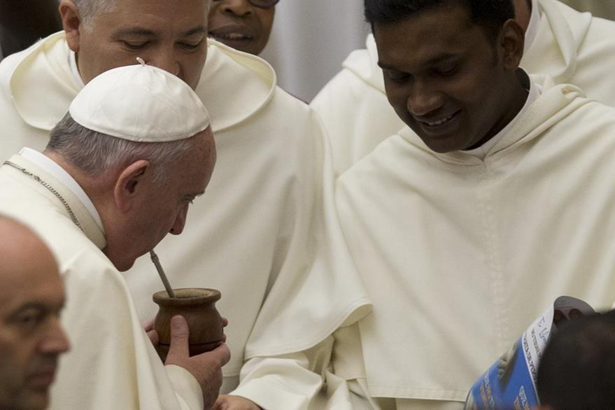 El papa Francisco visitará EE. UU. en septiembre próximo. (Foto Prensa Libre: AP).