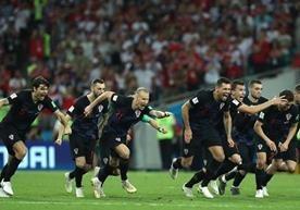 En el estadio Fisht los croatas sellaron el pase a las semis de Rusia 2018