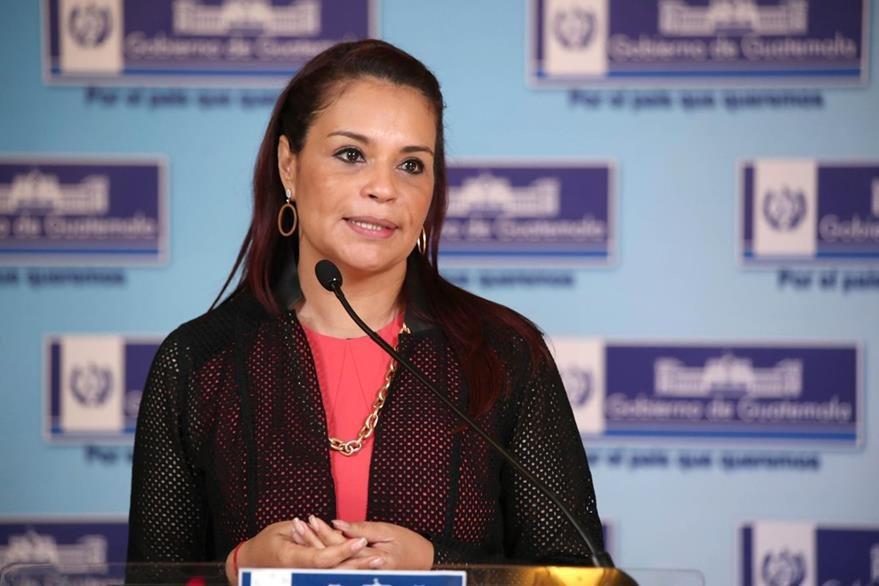 Roxana Baldetti renunció a la vicepresidencia de la república el 8 de mayo del presente año.