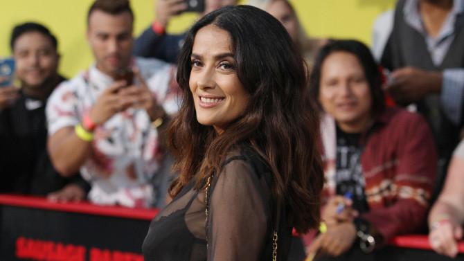 Salma Hayek será una de las presentadoras de la velada.