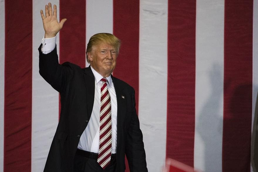 Trump aspira a ocupar la más alta magistratura de Estados Unidos. (Foto Prensa Libre: AP).