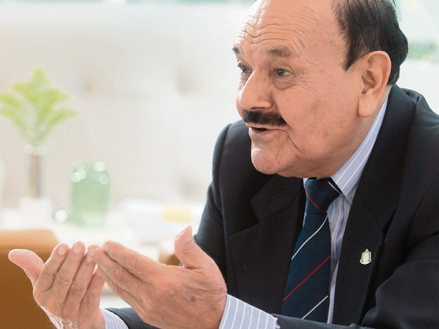 Teodosio palomino concedió una entrevista a Prensa Libre en el marco de su visita al país.